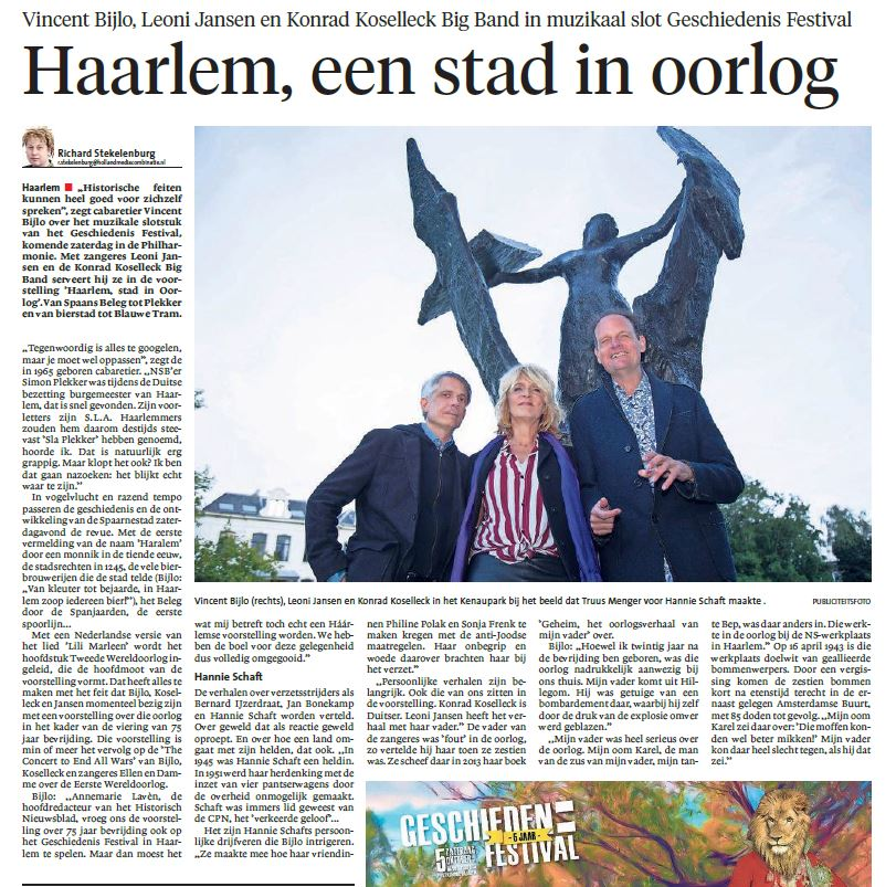 Recensie Haarlem, een stad in oorlog.
